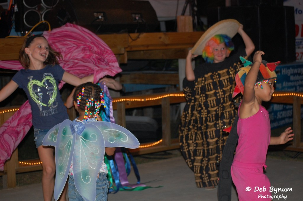 Kids on Dance floor - costumes by Joann McMillan