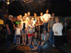 Gar to Stage Jam BAND and Support People