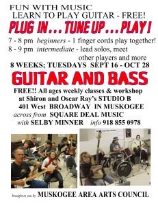 Guitar class muskogee