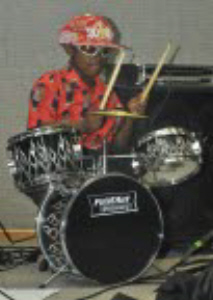 Kid on Drums Lawton
