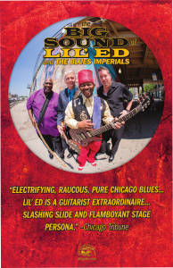 LIL ED poster in red