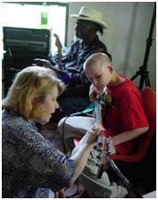 Locust Gr selby teaches bass