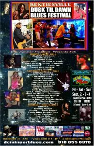 POSTER Blues Fest Best 6  19   2016
