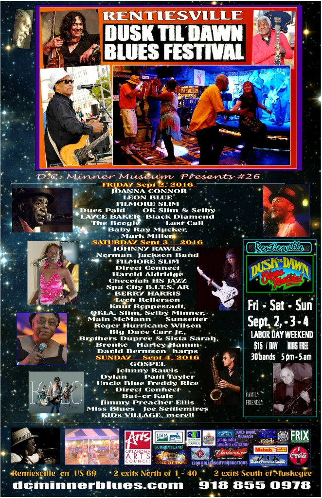 POSTER Blues Fest Best 6  19   2016