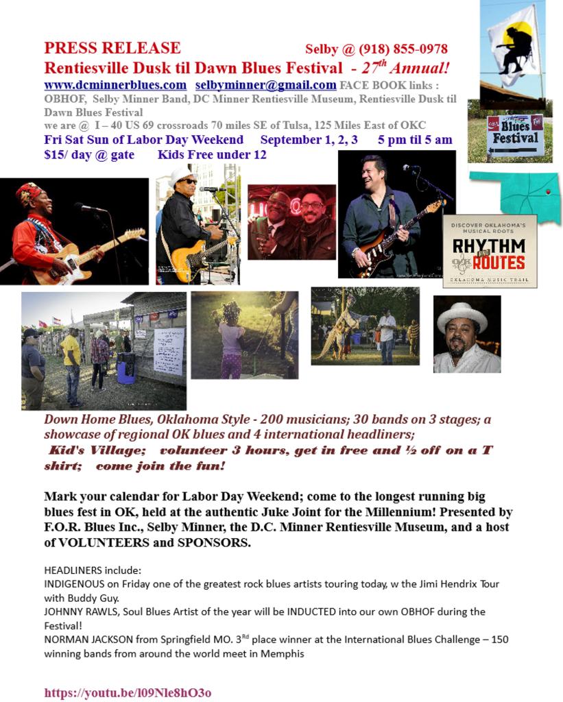Press Rel w Sponsors June 28th page 1