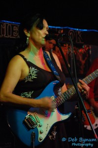 Debbie Beanez Blackwell runs the invitational jam session in the club each night from 10 - 1 pm