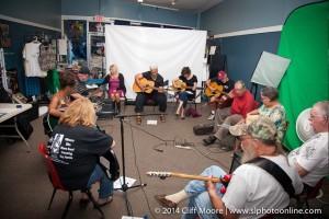 Guitar class Studio B w Selby