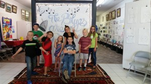 Holdenville Summer Arts Camp getting ready to sing