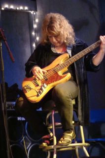 Selby on bass