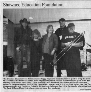 Shawnee residency story in paper