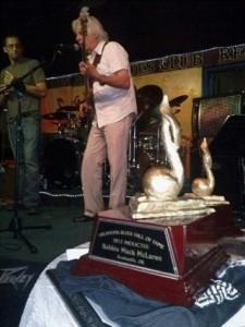 robbie mack onstage